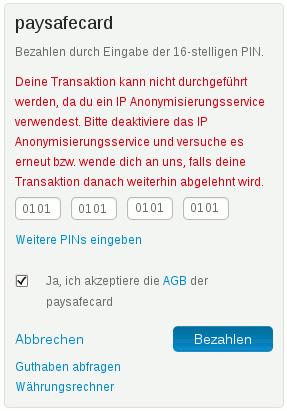 Paysafecard Konto Löschen